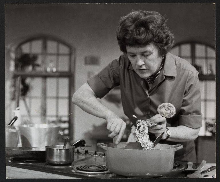 Julia Child, The French Chef episode: Veal for a king