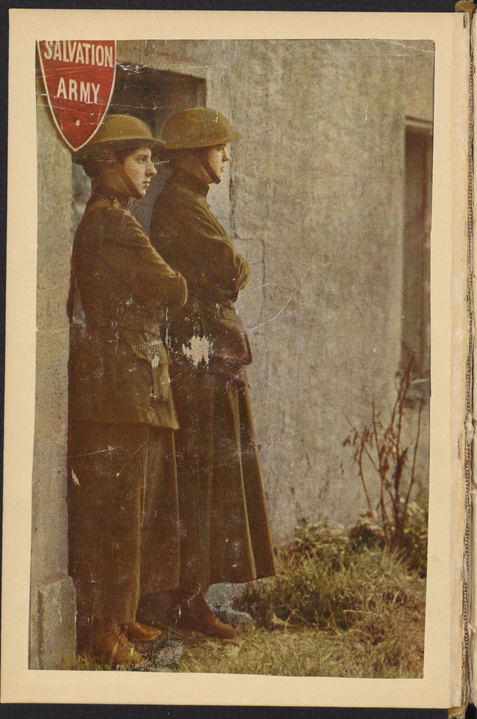 Illustration from 'The War Romance of the Salvation Army', 1919