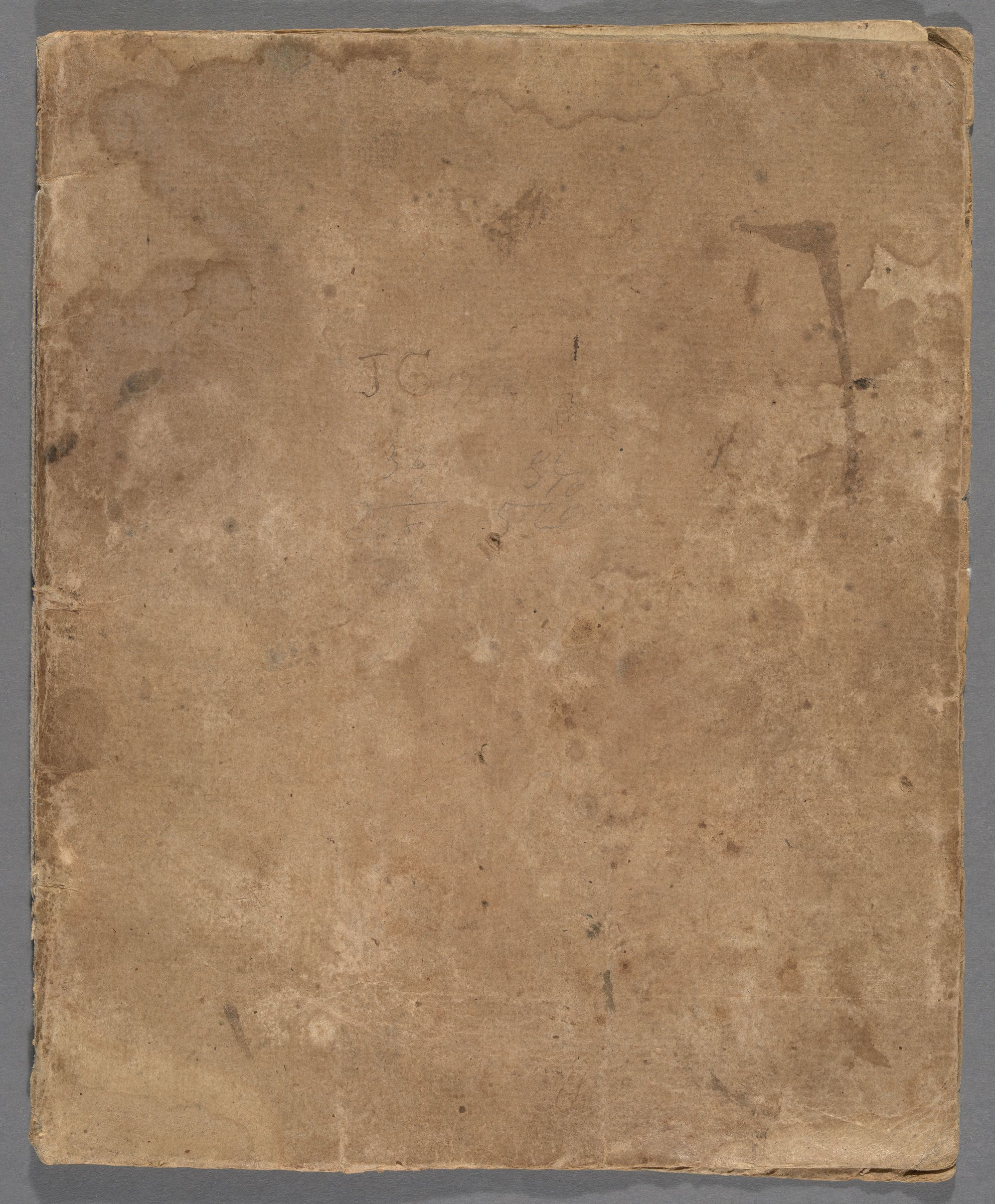 John Gordon notebook, 1793-1795