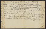 Letters from Charles Franklin Brooks to Eleanor Stabler Brooks, January 1913