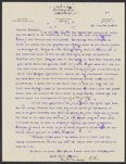 Letters from Charles Franklin Brooks to Eleanor Stabler Brooks, February 1913