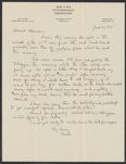 Letters from Charles Franklin Brooks to Eleanor Stabler Brooks, June 1913