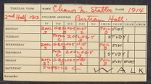 Eleanor Stabler Brooks's grades and note from her Uncle Howard Parker, professor of Zoology, 1914