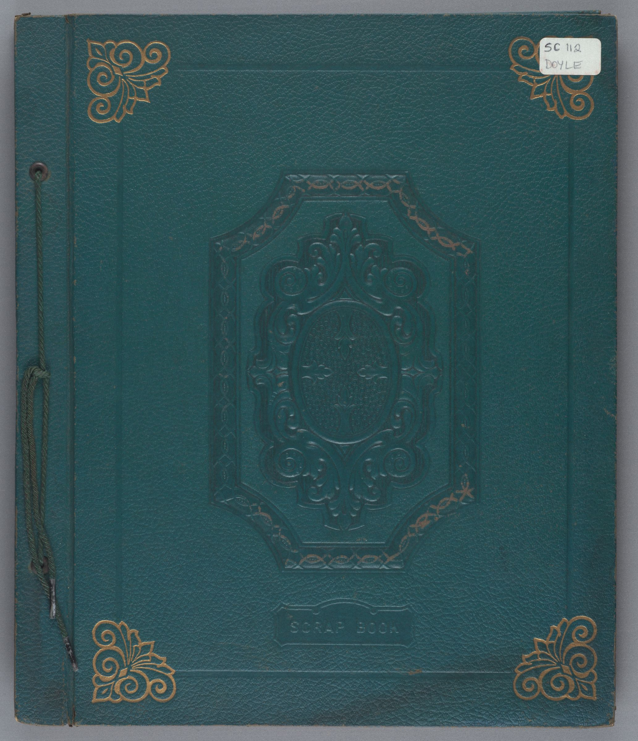 Margaret Young Doyle Radcliffe College scrapbook, 1938-1941