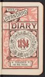Elsie Winchester Coolidge diary, 1894