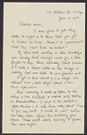 Letters from Eleanor Stabler Brooks to Charles Franklin Brooks, January-June 1913