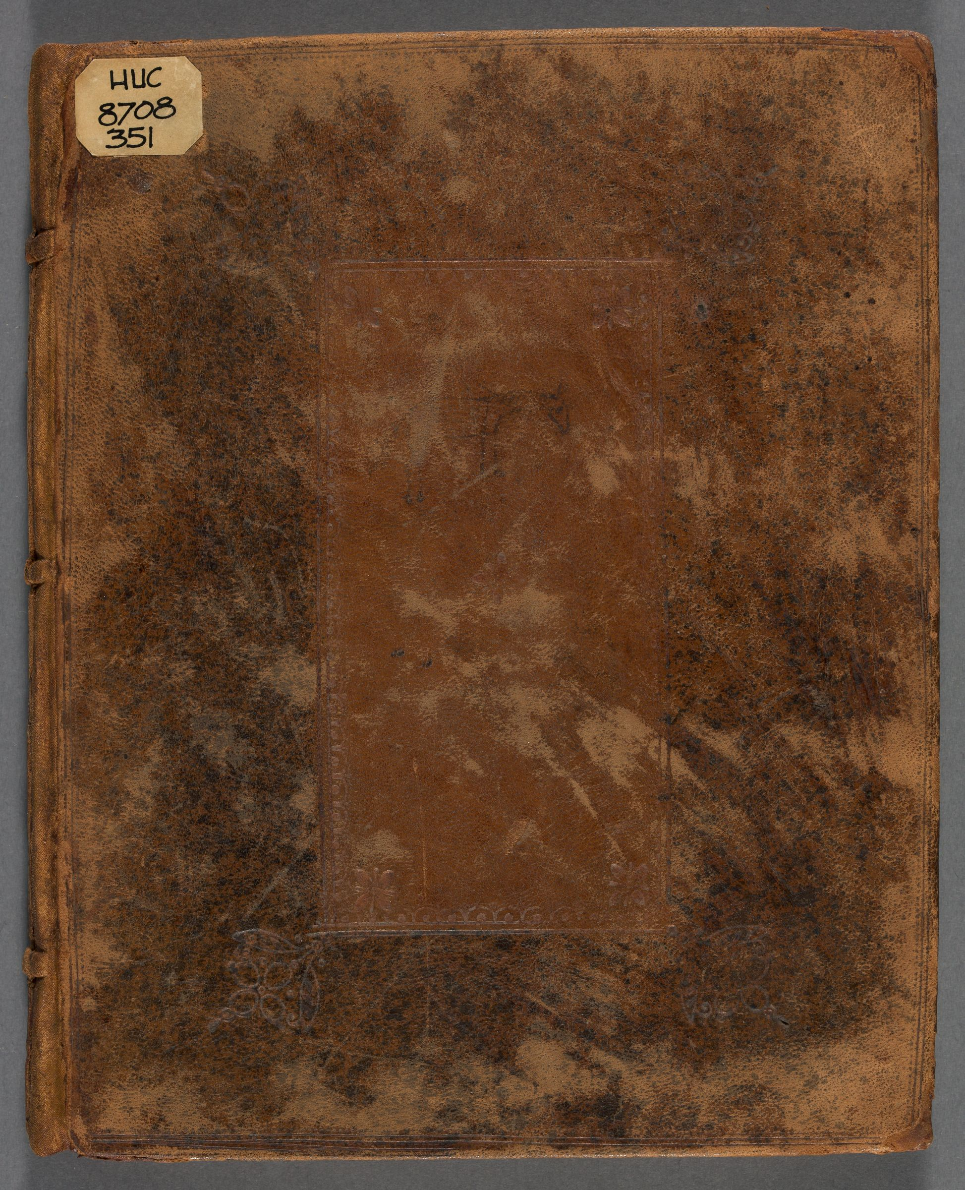 Notebook of Obadiah Ayer, 1708-1716