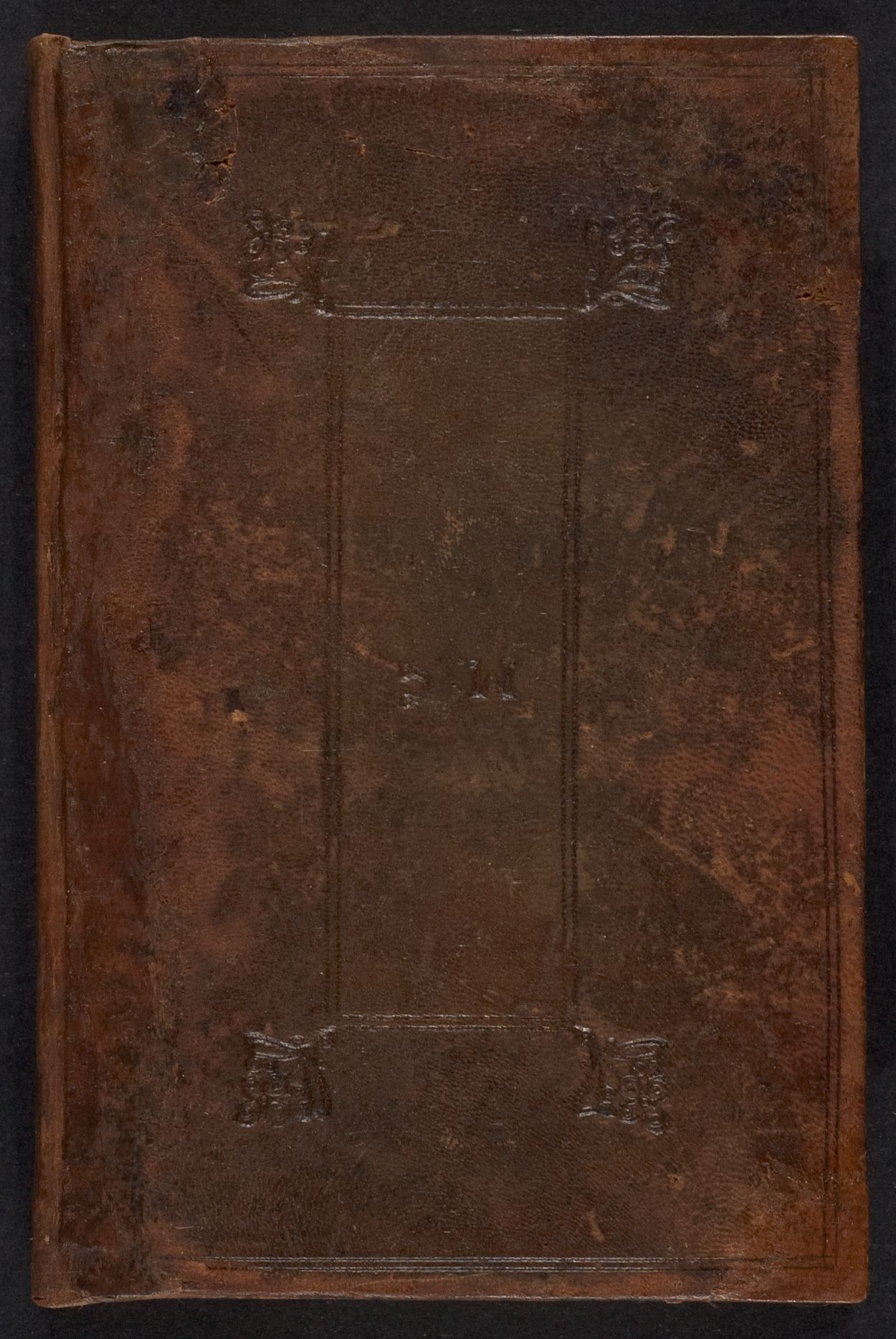 Student notebook of Marston Cabot, ca. 1720-1735