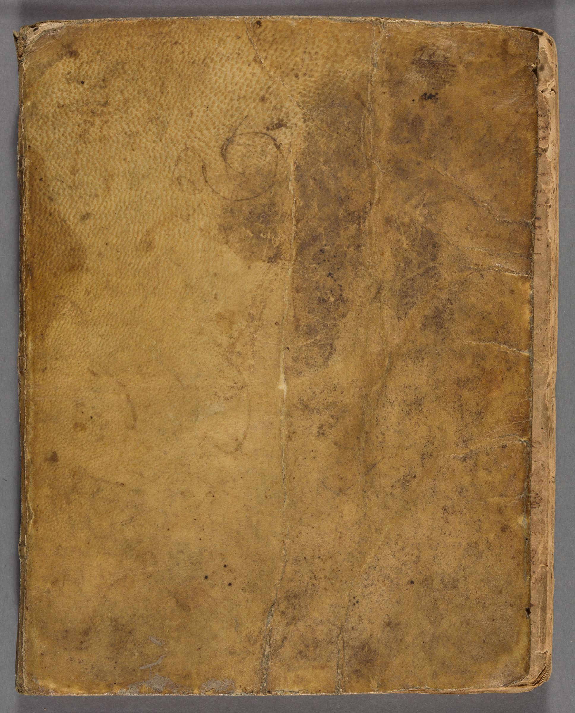 Student notebook of James Varney, 1721-1725