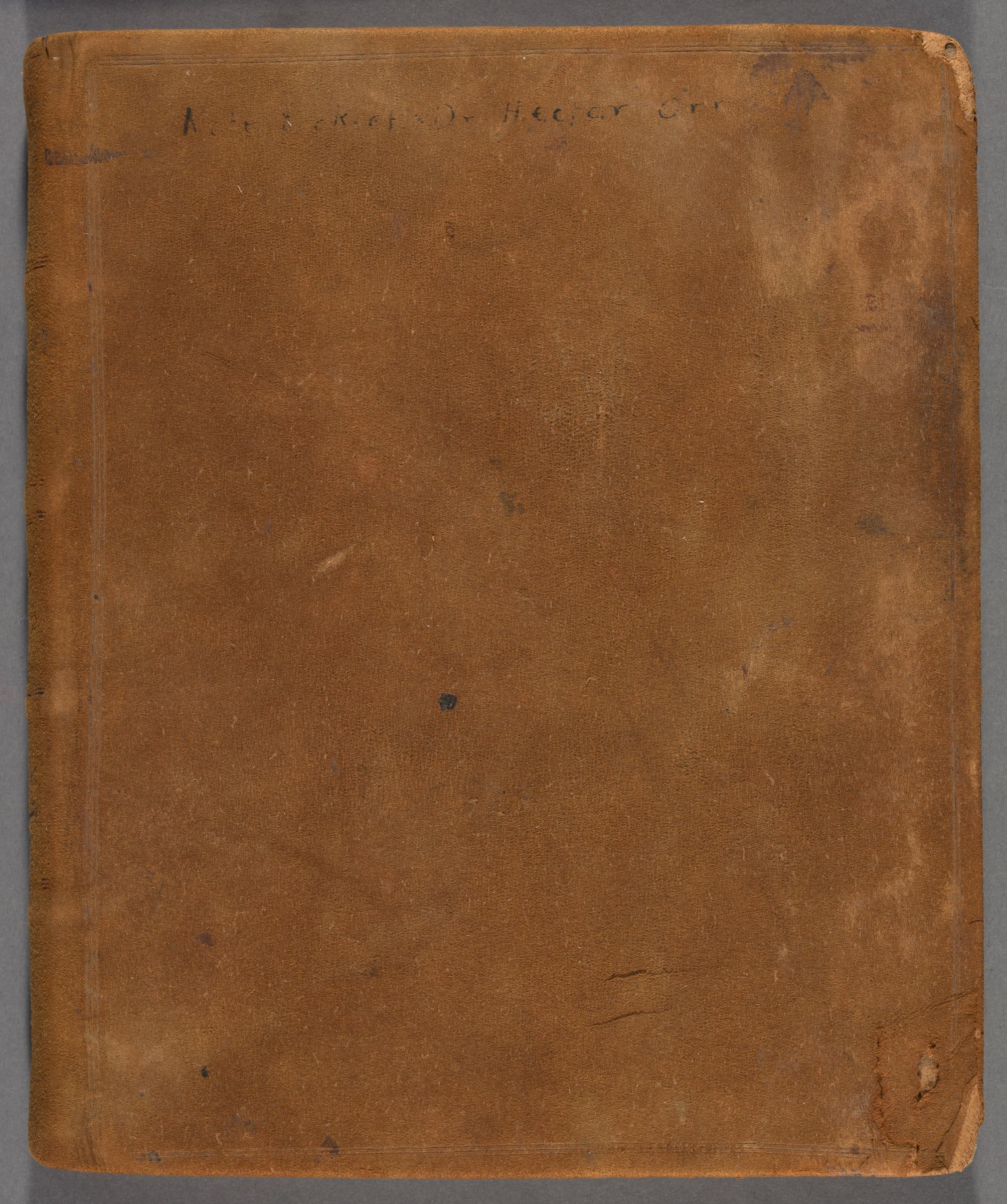 Commonplace book of Hector Orr, 1789-1804