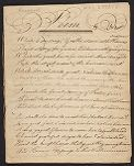 Poem (manuscript copy owned by Jonathan Remington and Benjamin Parker), 1782