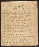A Poetical Essay delivered at Commencement July ye 18th 1781 (manuscript copy), ca. 1780s