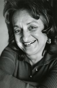 Portrait of Betty Friedan, 1975