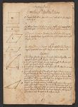Notebook on geometry, geography, astronomy, and navigation, ca. 1714-1718