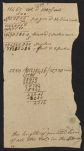 I. Calculation of the length of printed lines of all the volumes in the Harvard Library, ca. 1789