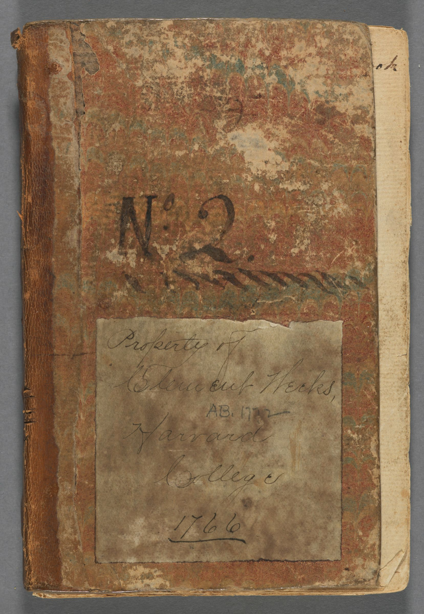 Commonplace book of Clement Weeks