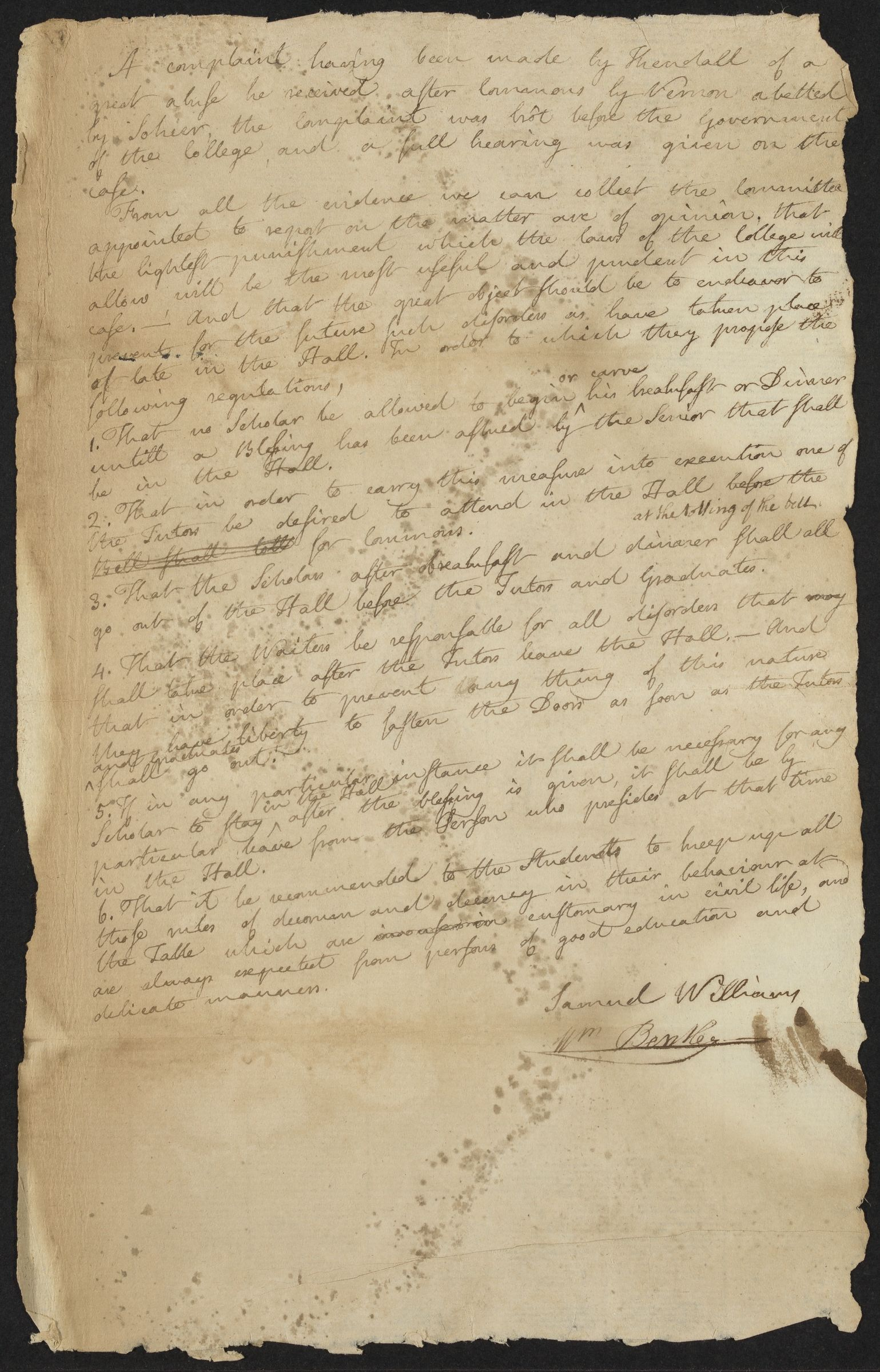 [Committee report], 1780 May 16