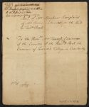 Manuscript copy of Joseph Mayhew's complaints against Nathan Prince, Oct. 31, 1740 and Nov. 4, 1740