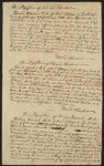 Depositions of Edward Winslow and Belcher Hancock against Nathan Prince, Nov. 1741