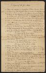 List of evidence against Nathan Prince, ca. 1741