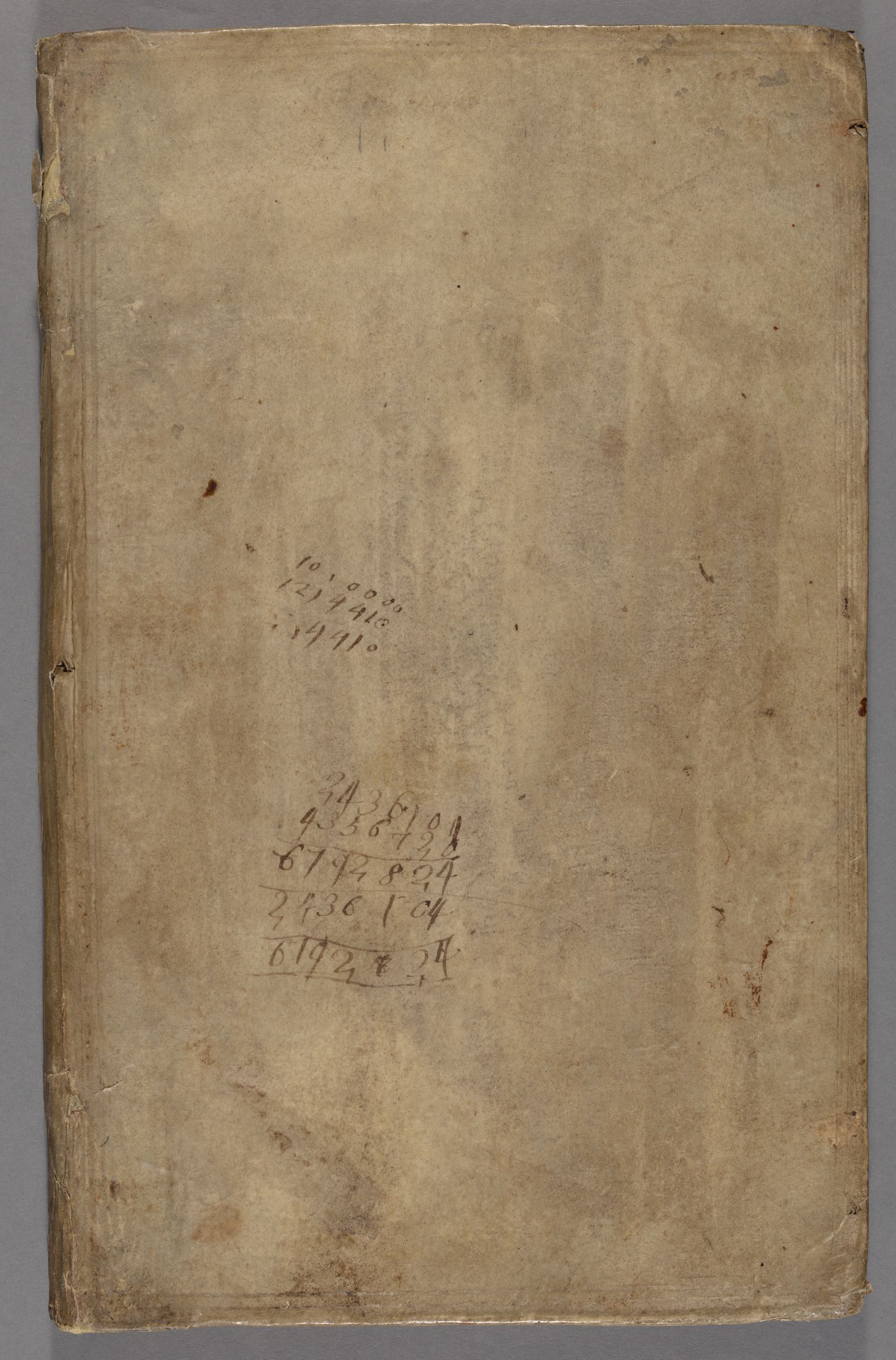 Manual of navigation : manuscript, [1697?]