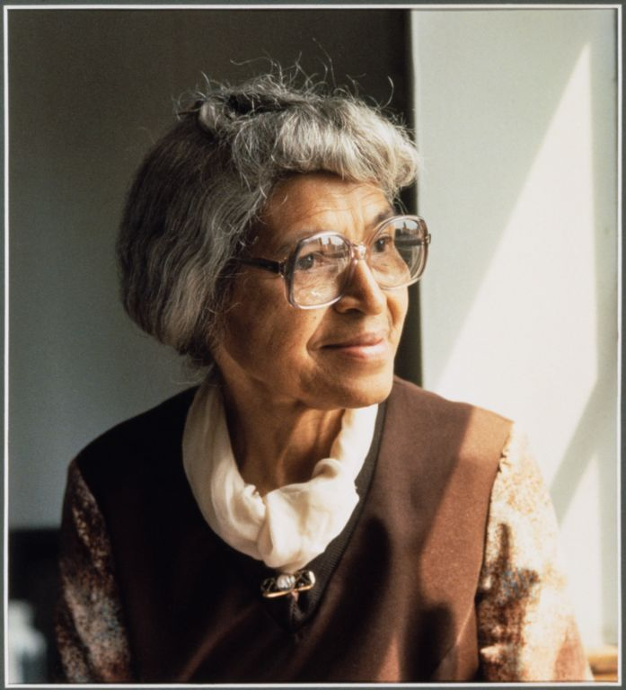Portrait of Rosa Parks