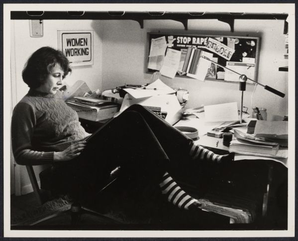 Author Susan Brownmiller at home