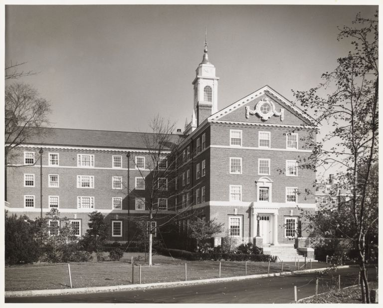 Exterior view of Moors Hall.