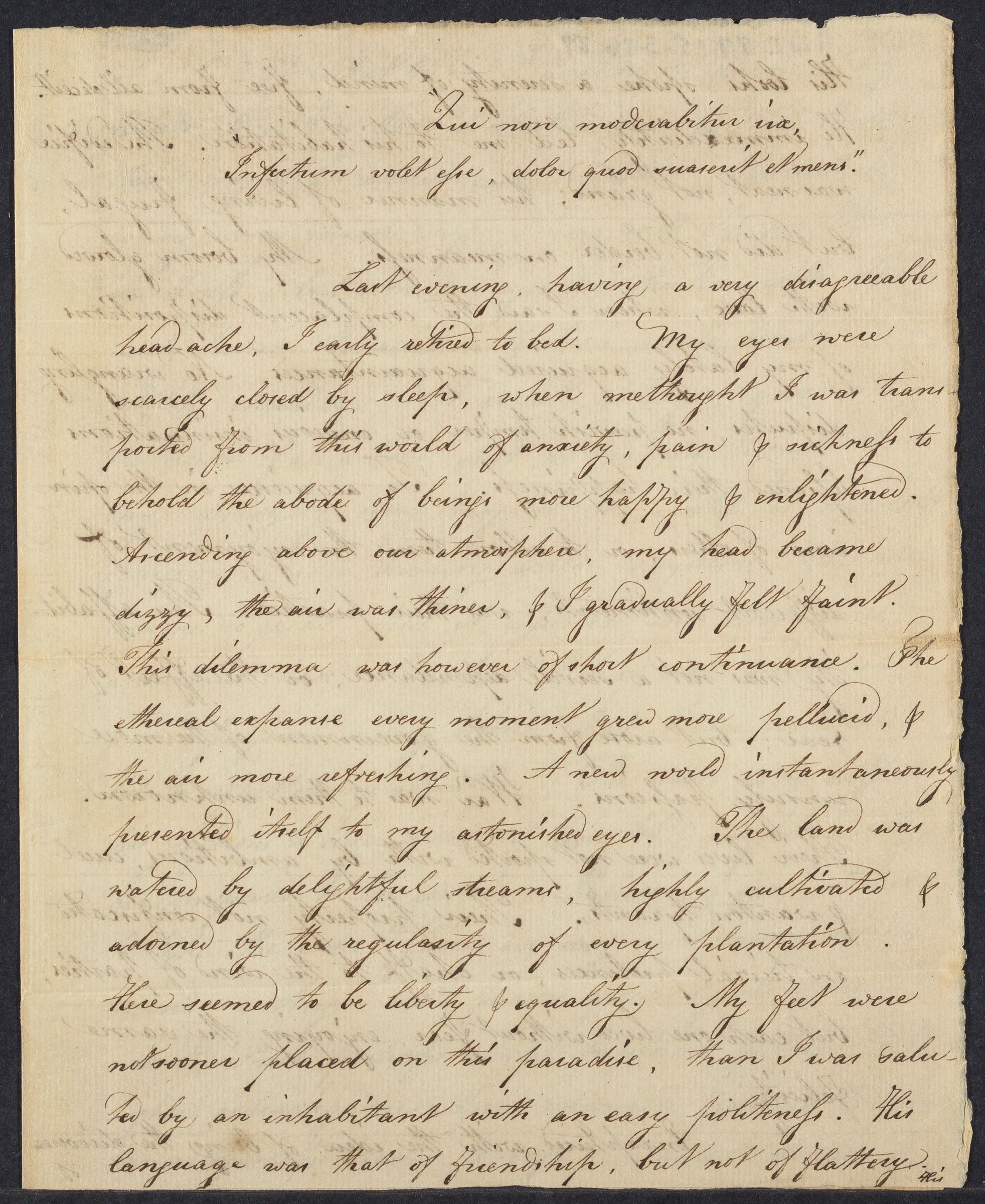 Student essay composed by Edmund Toppan, 1795