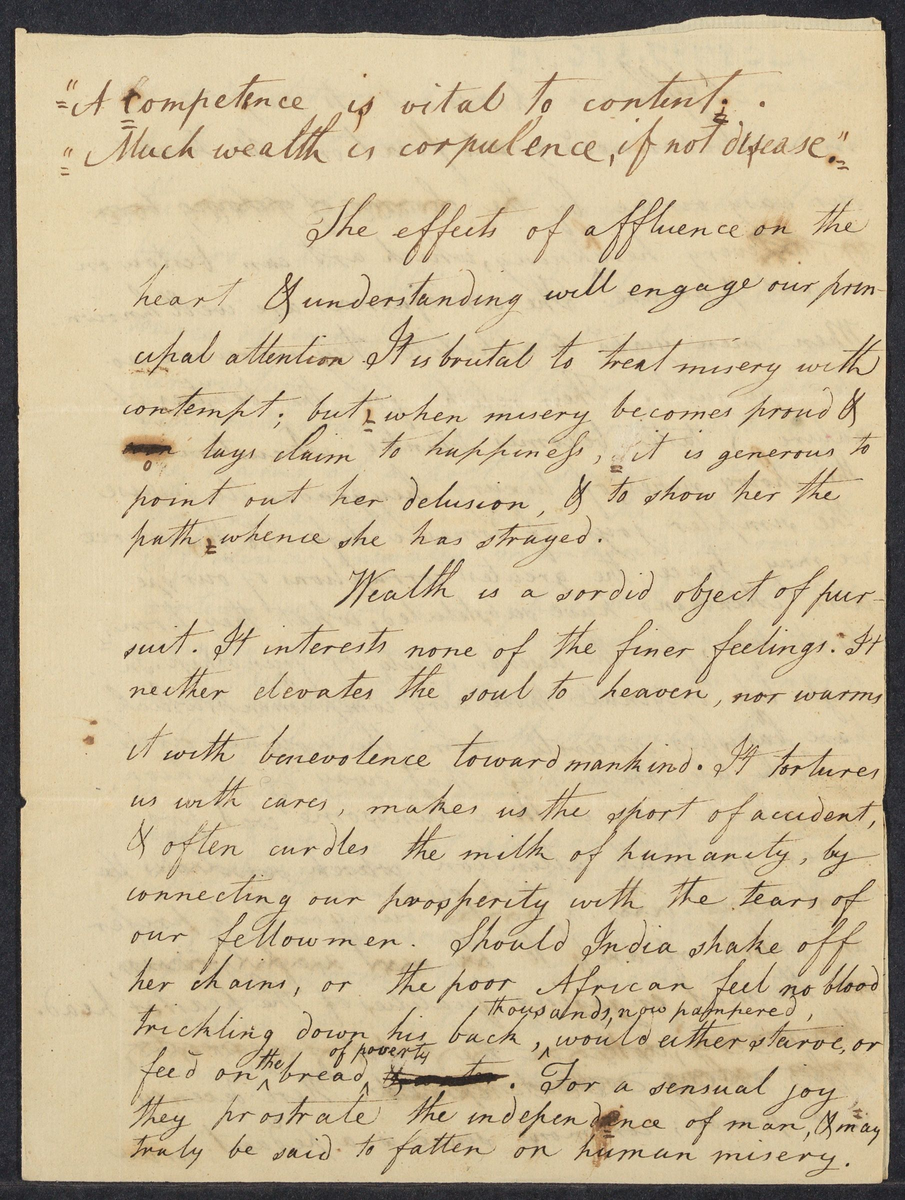 Student essay attributed to William Ellery Channing, 1797 June 5