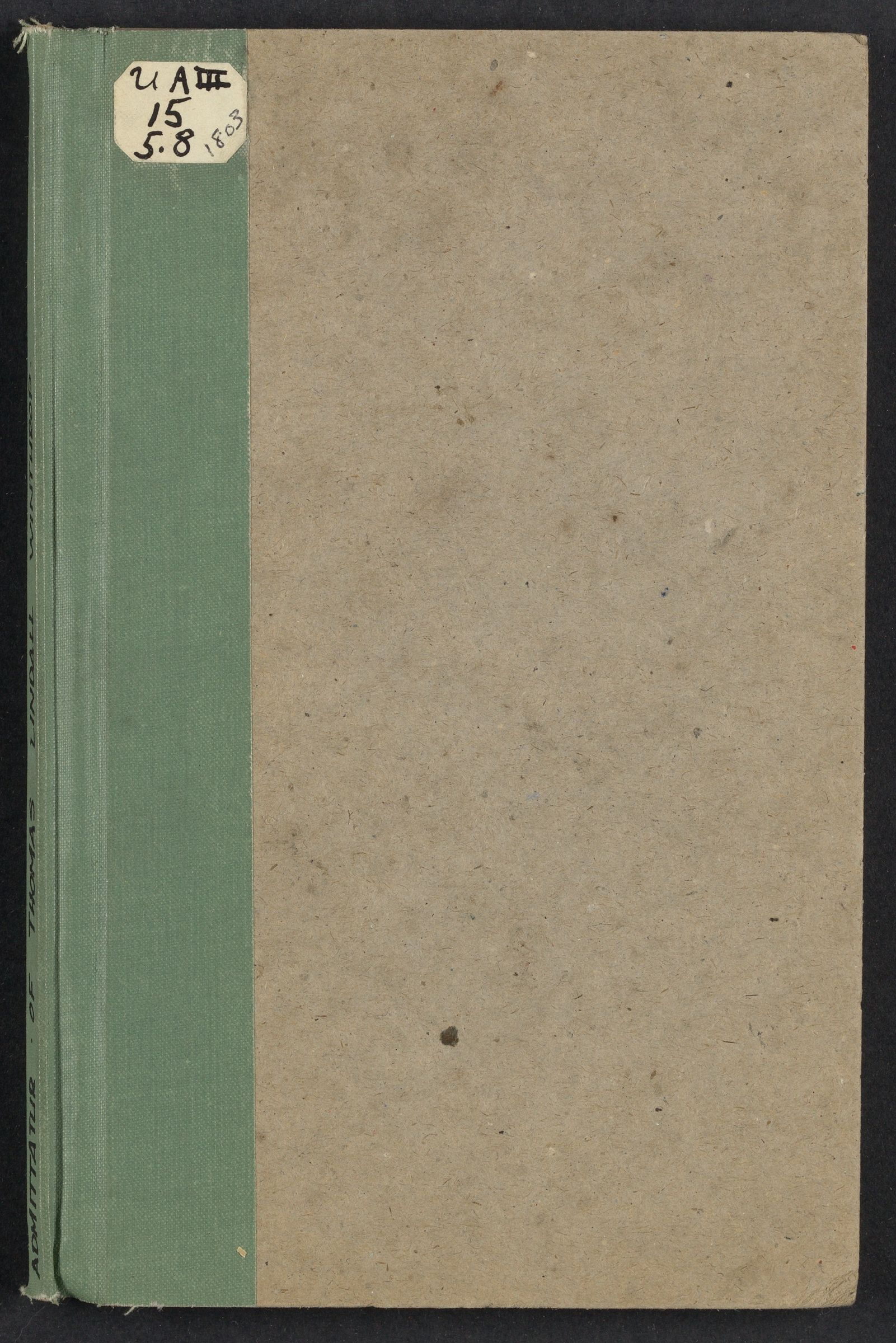 [Admittatur of Thomas Lindall Winthrop], 1803 September 29