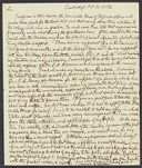 Copy of letters from Edward Wigglesworth and Samuel Williams to John Lowell, 1781-1782