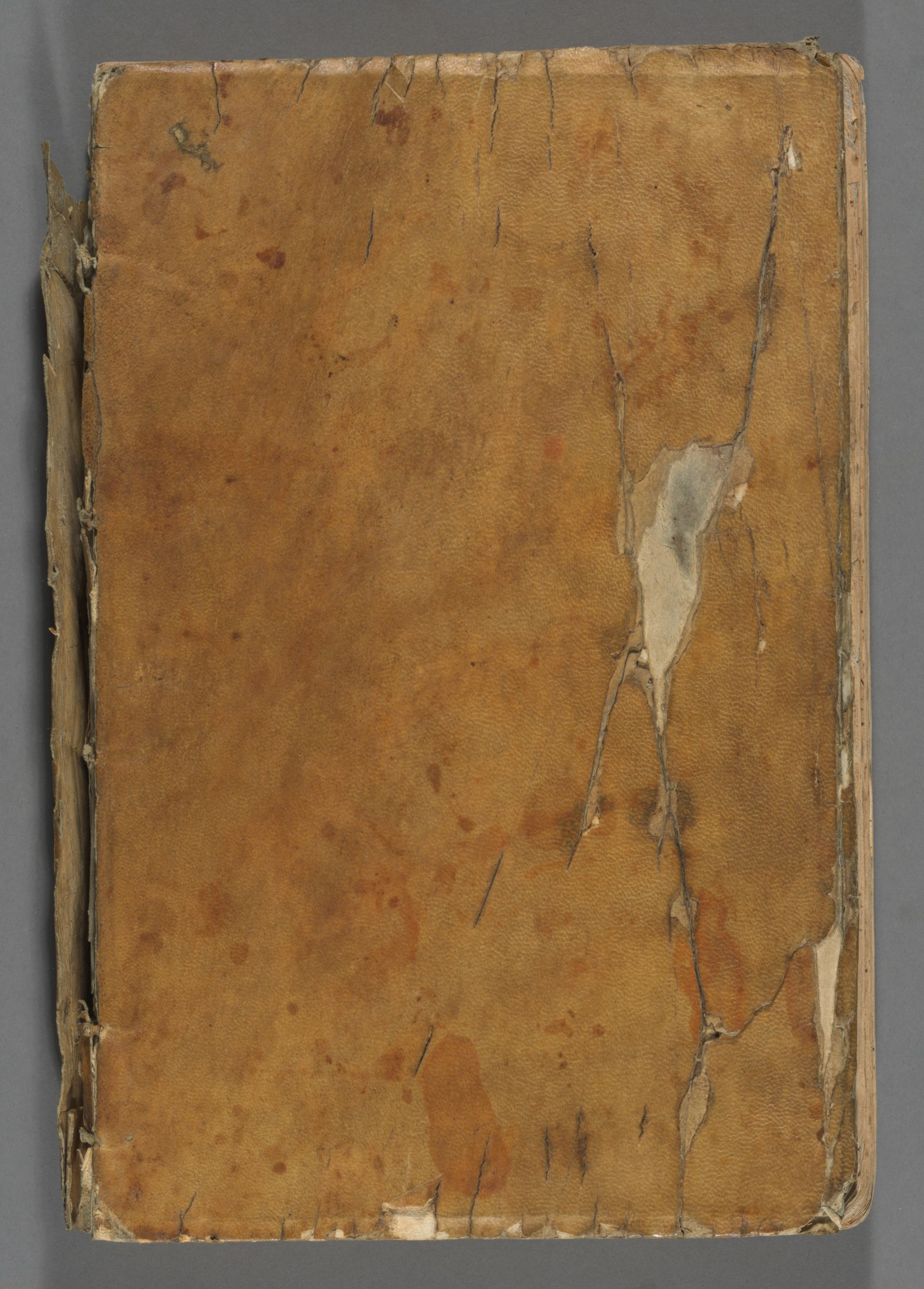 Ledger for the Classes of 1650-1663, 1649-1660