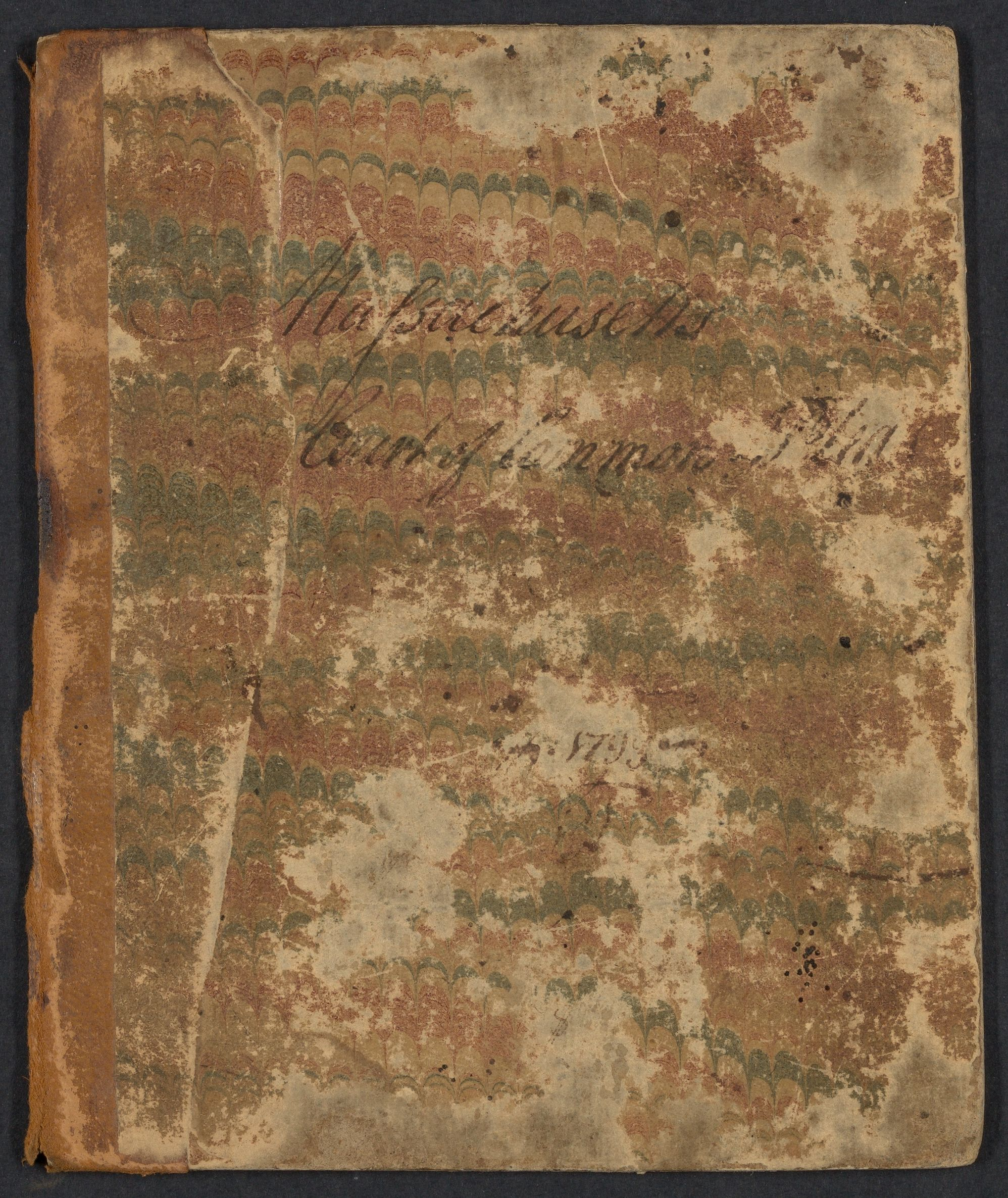 Docket and fees book / 1791-1797