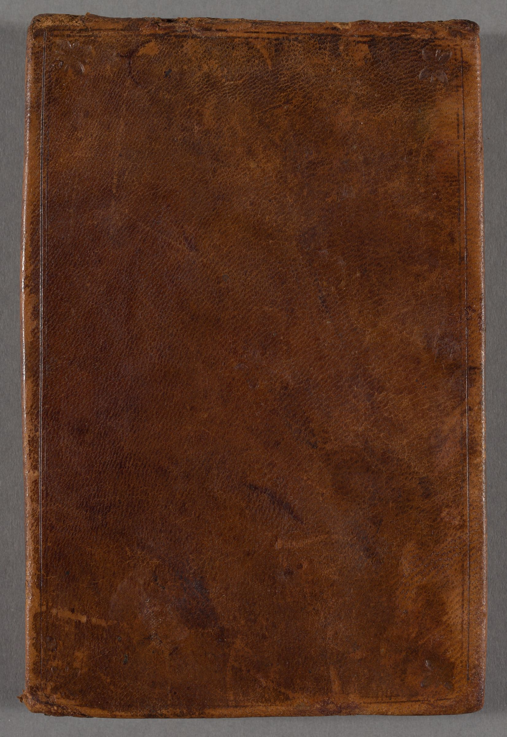This leather bound, unsigned, autograph volume contains 224 pages of manuscript abstracts, in Latin, of sermons by Rev. Nathaniel Clapp (1668/1669-1745; Harvard AB 1690) a minister in Newport, Rhode Island. They span the period from 1706-1707.