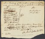Meeting minutes maintained by the Secretary, Sept. 3, 1776; Sept. 10, 1776; and Sept. 30, 1776