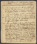 Draft of the Rules, Directions, and Statutes of the Boylston Professorship of Rhetoric and Oratory in Harvard College, [ca. 1804]