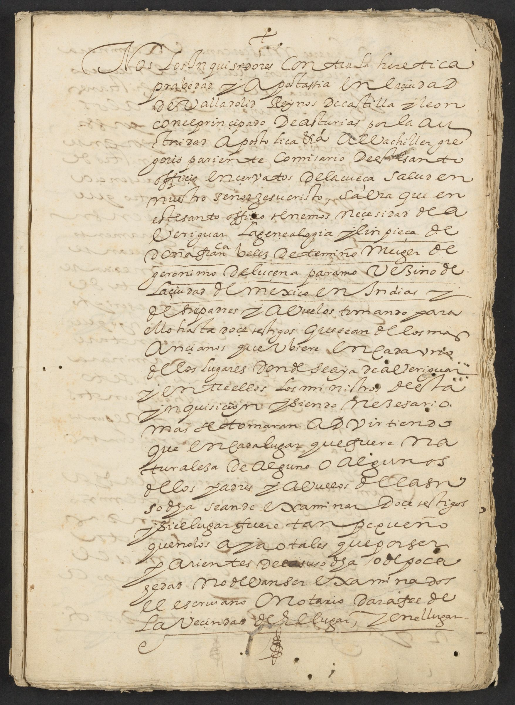 Additional information on the genealogy and trial of Francisca Velez de Temiño, 4 April 1623.
