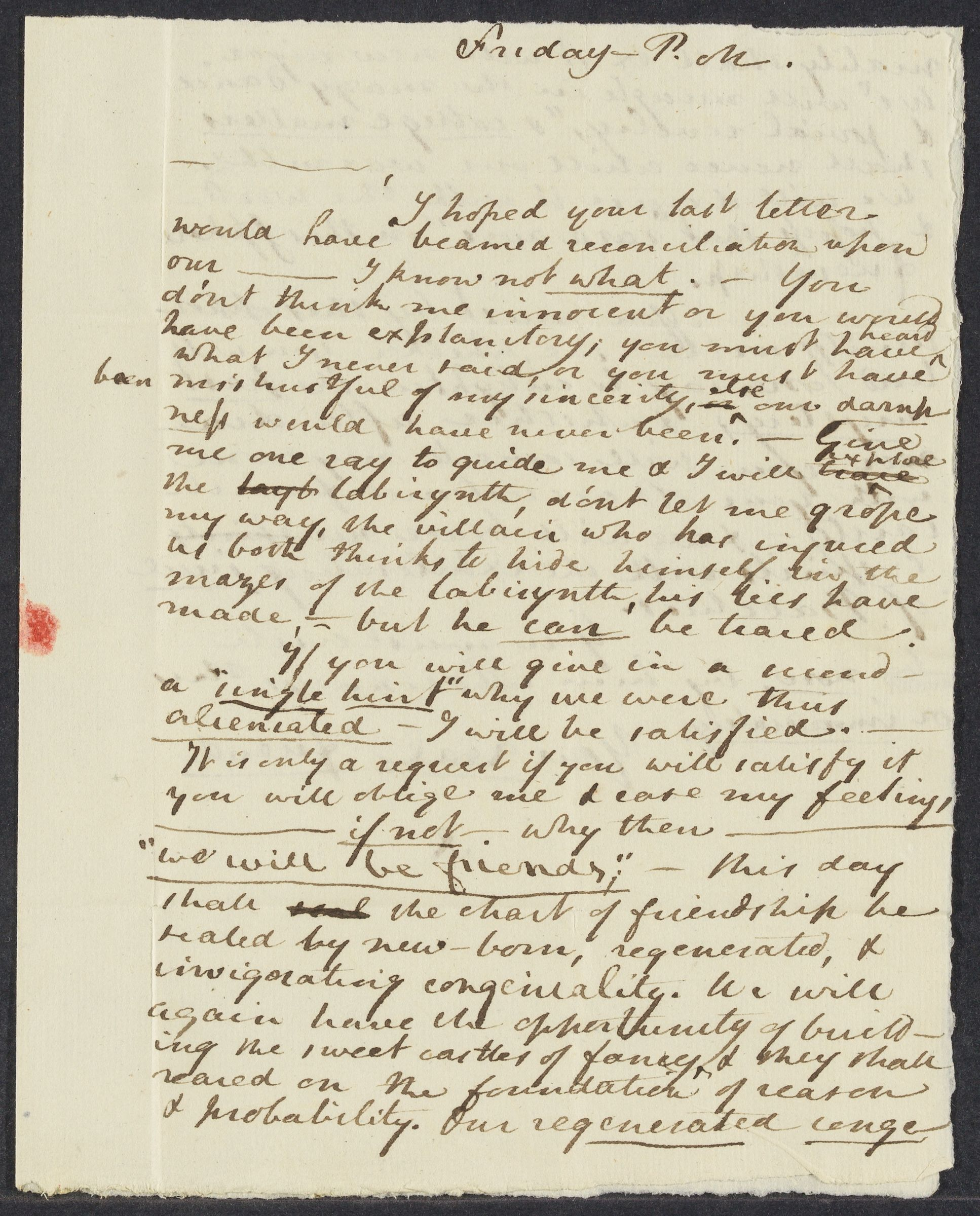 Letters from Benjamin Welles to John Henry Tudor, 1799-1801