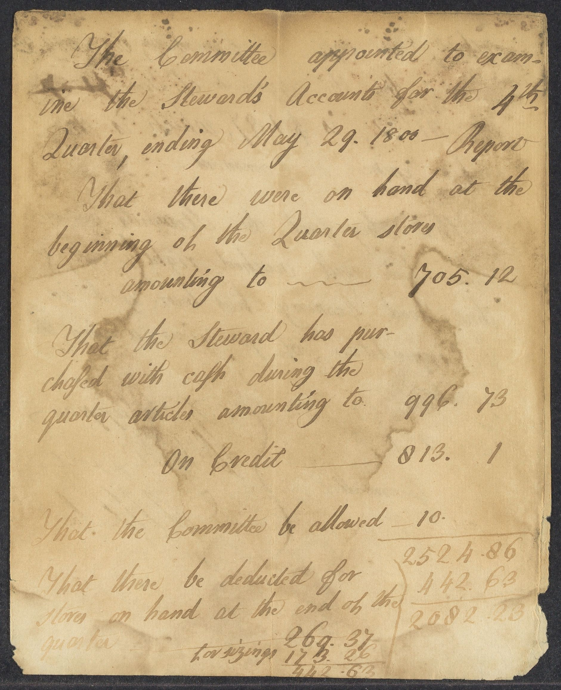 Reports of the Committee of commons, 1800