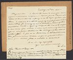 Letter from Frances Sales to Josiah Quincy, 1835 October 22