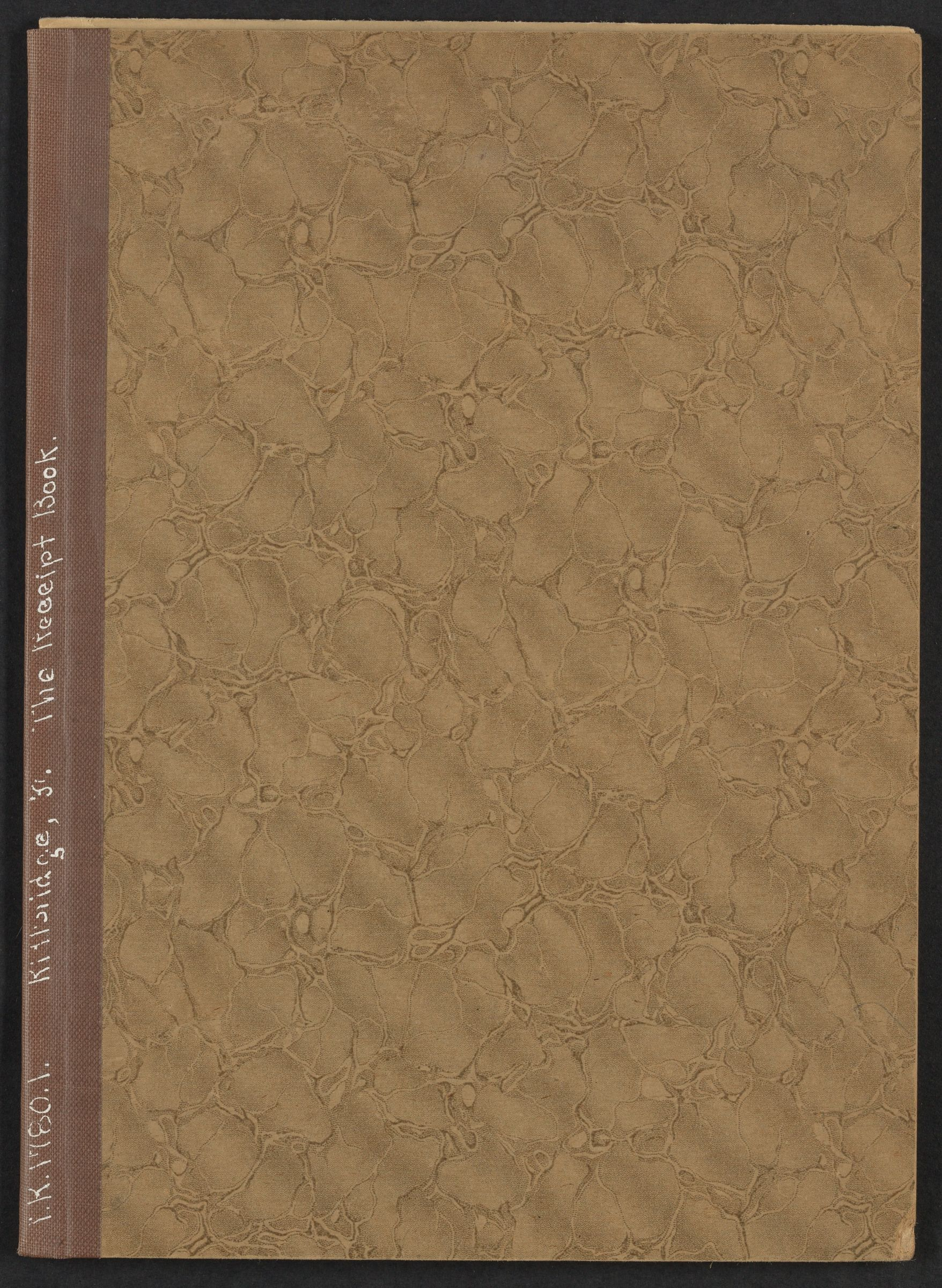 Receipt book of Francis Kittredge, 1780