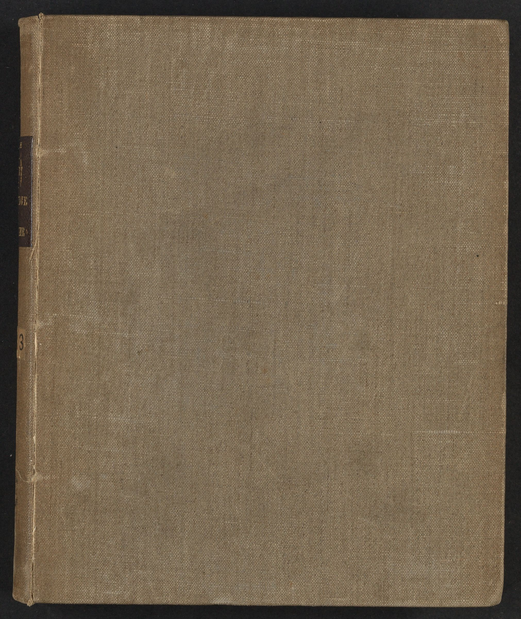 Student notes from medical lectures by Benjamin Rush, undated