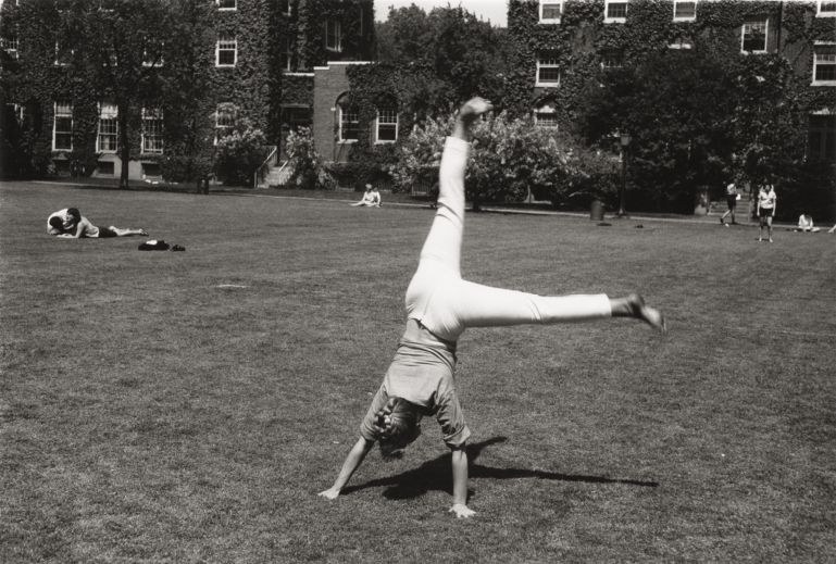 Cartwheels in Radcliffe Quad