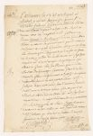 Receipt (...) for equipment made and furnished to the Nipissing Indians for a raid against the Miamis  1752