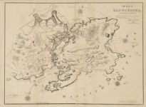 Map of Gloucester, Cape Ann shewing the roads, harbours, rivers, coves, islands & ledges surrounding that important cape, with directions for entering the harbours
