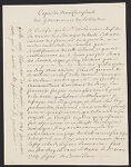 Copie de deux certificats des gouvernement de l'Acadie J.-F. Monbeton de Brouillan. 1730
