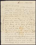 Tudor, Frederic, 1783-1864. 1 letter to John Tudor; 1801., Tudor family additional papers