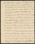 Tudor, Frederic, 1783-1864. 1 letter to William Tudor; 1796., Tudor family additional papers