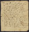 Ballou family. Papers, c. 1785-1974. Ballou, Silas, 1753-1837, handwritten, undated hymn, probably written c. 1785. bMS 128/1 (9), Andover-Harvard Theological Library, Harvard Divinity School.